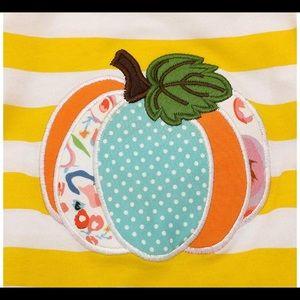 One Pieces - Pumpkin Striped Romper